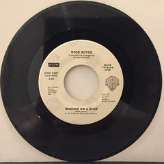 ROSE ROYCE:WISHING ON A STAR(RECORD SIDE-A)