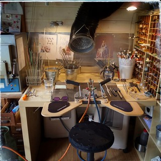 This is where I make my beads