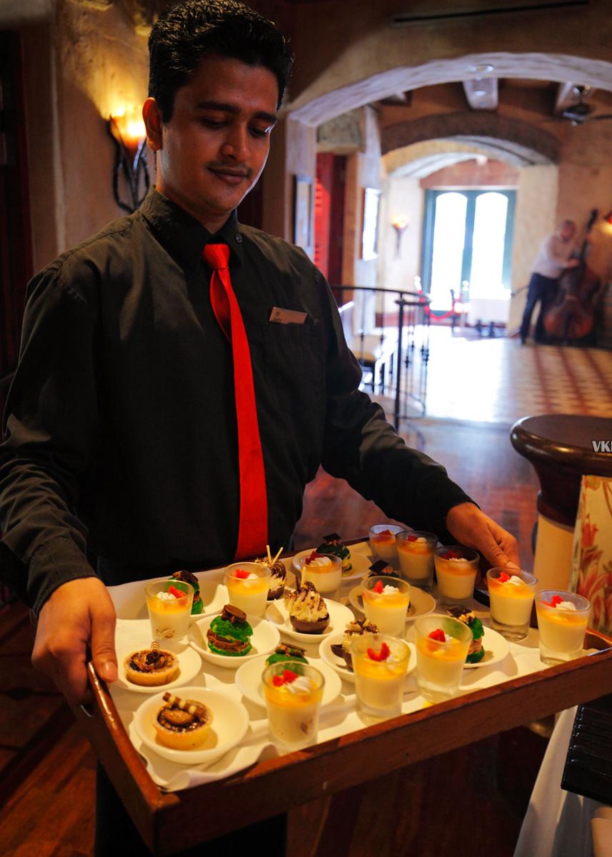 Villa Danieli Italian Prosecco Brunch Desserts