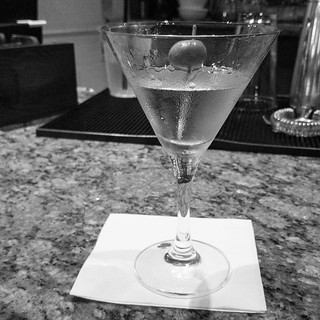 Why not? #martini #olive #drinks #relax #almostfriday | by James Olmos