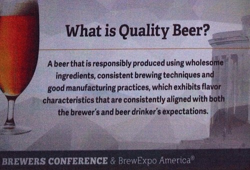 What is quality beer?