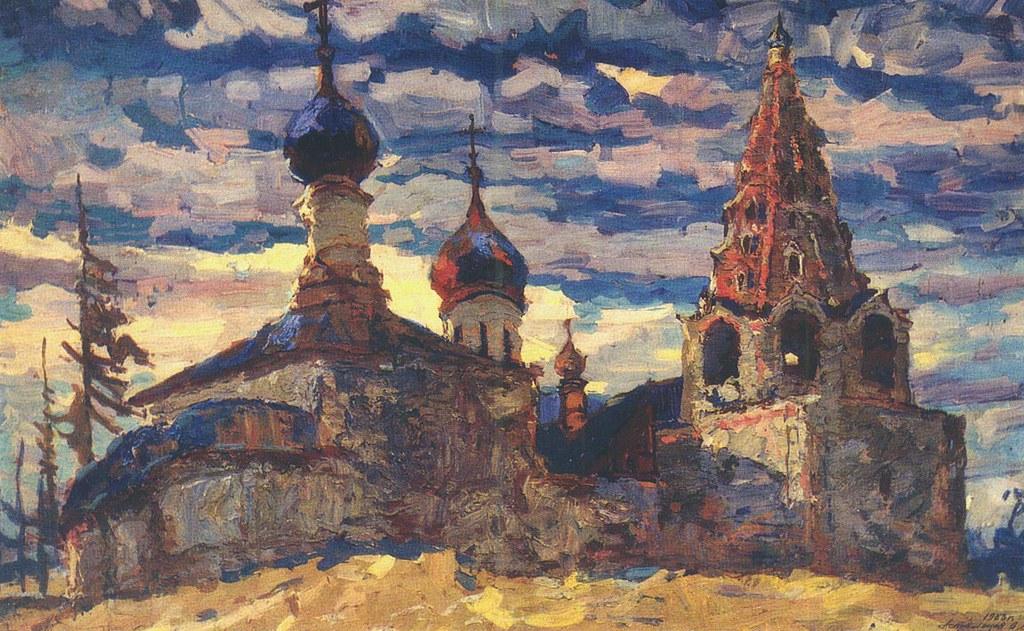 维克多·阿斯塔利采夫画作选34
