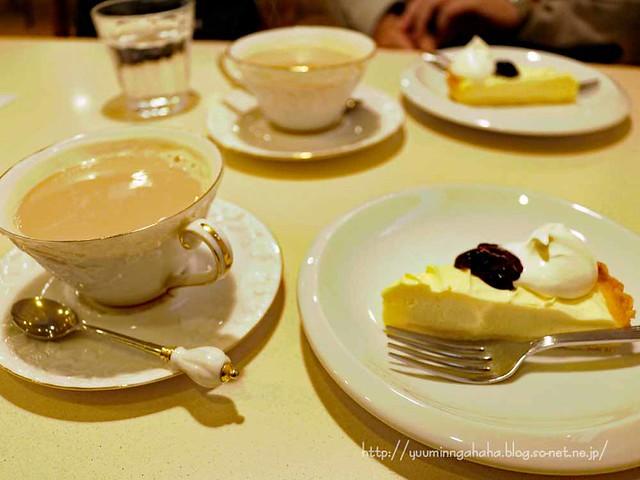 チーズケーキ カフェオレ