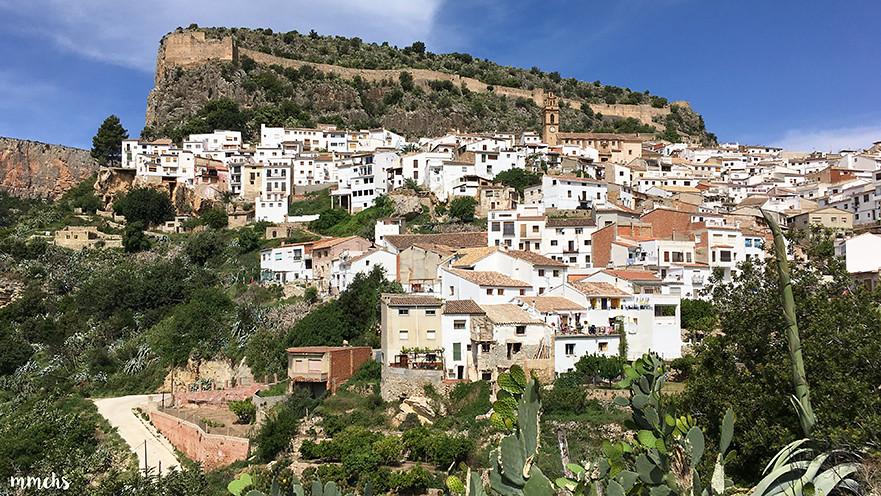 Vistas del pueblo de Chulilla