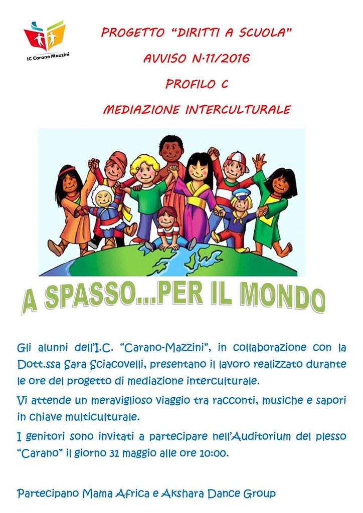 diritti a scuola mediazione interculturale