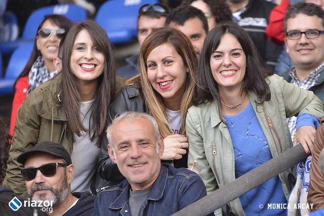 La afición en el Dépor - UD Las Palmas