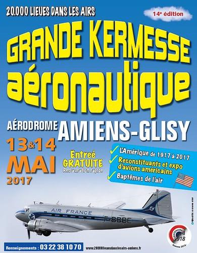 Kermesse aéronautique d'Amiens-Glisy mai 2017