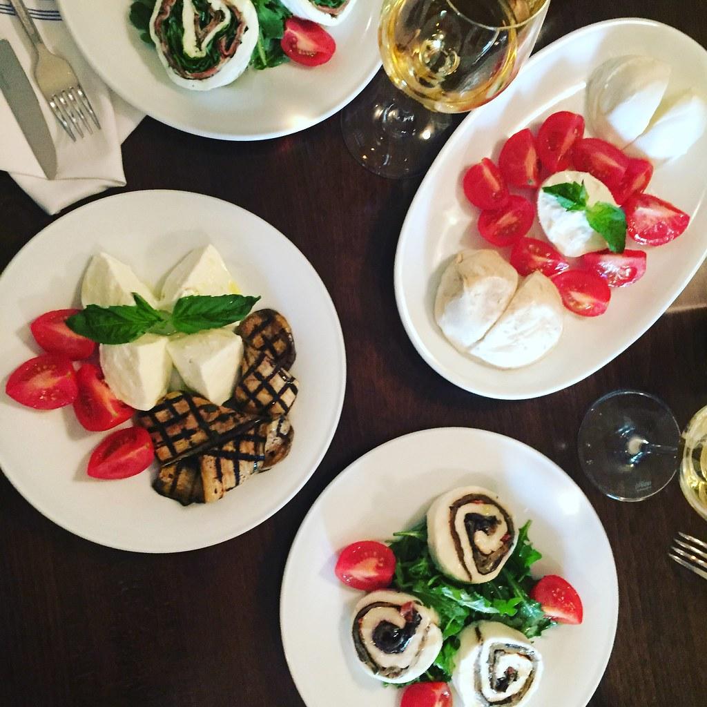 Mozzarella & Vino (Courtesy Jim Taylor)