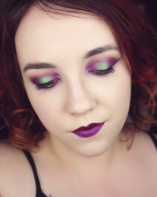 Poison makeup look - Big or not to big (1)