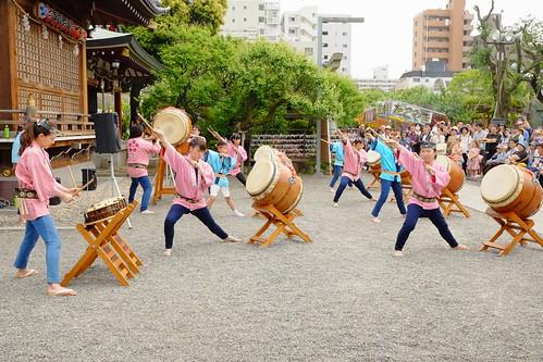 Kameido tenjin wisteria festival 2017 11