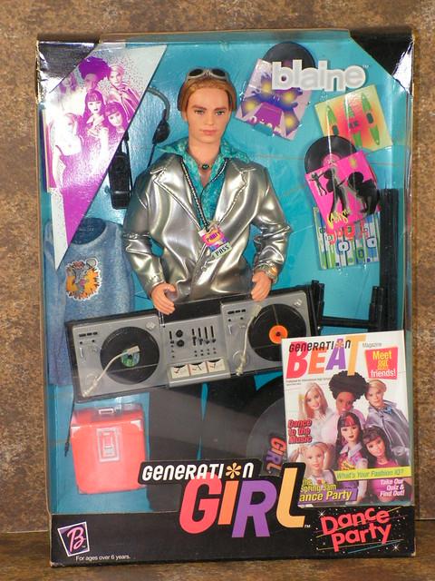 1999 Barbie Generation Girl Dance Party Blaine 26111 (3)