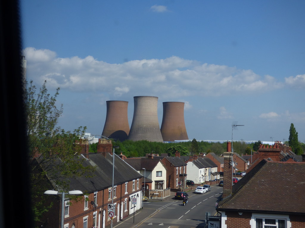 Fired Up >> Rugeley Power Stations - houses on Armitage Road, Rugeley | Flickr