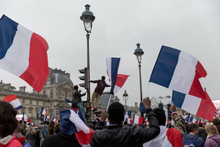 French Election: Celebrations at The Louvre, Paris | by Lorie Shaull