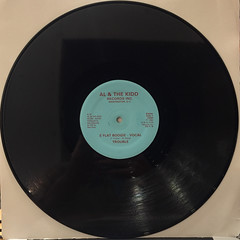 TROUBLE:E FLAT BOOGIE(RECORD SIDE-A)