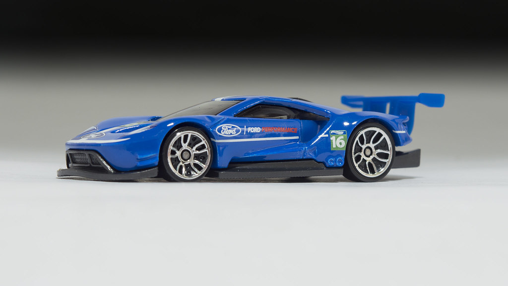 Hot Wheels  Ford Gt Race By Nirmala_l