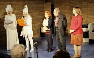 La giuria composta da Maruzza Bardoscia, Giancarlo D'Addabbo e Luna Pastore