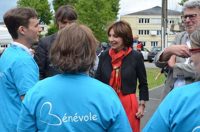 Marisol TOURAINE à Esvres, Monts
