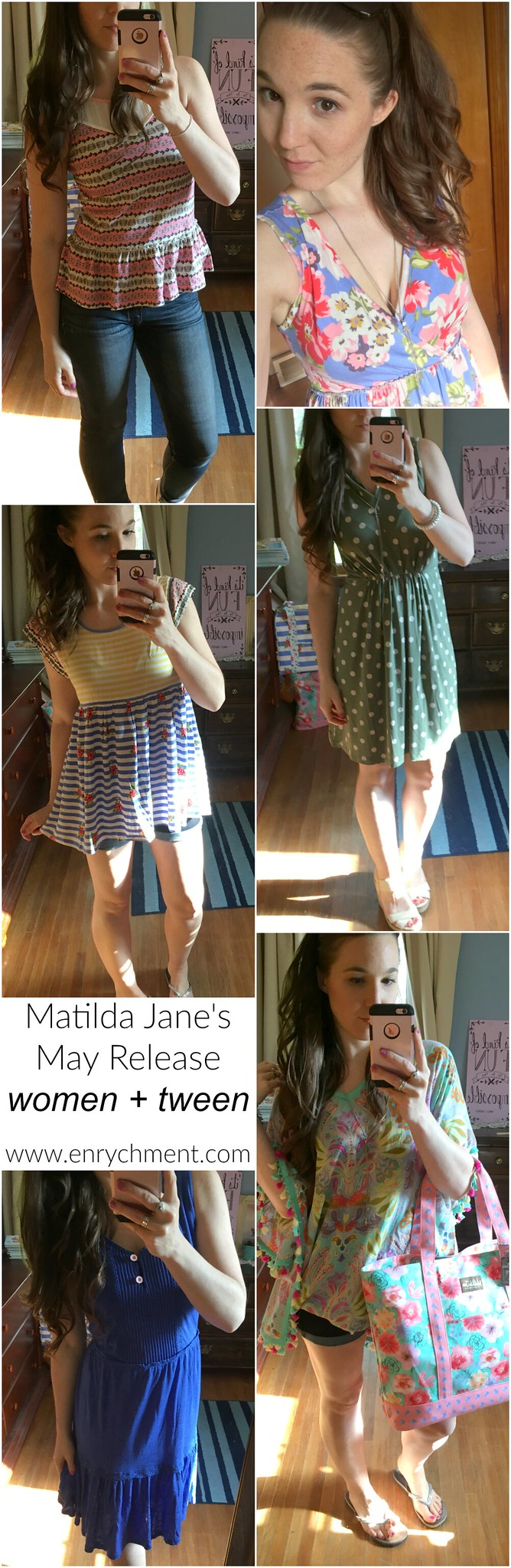 Matilda Jane's Spring 2017 May Release | Women and Tween IRL pics on www.enrychment.com