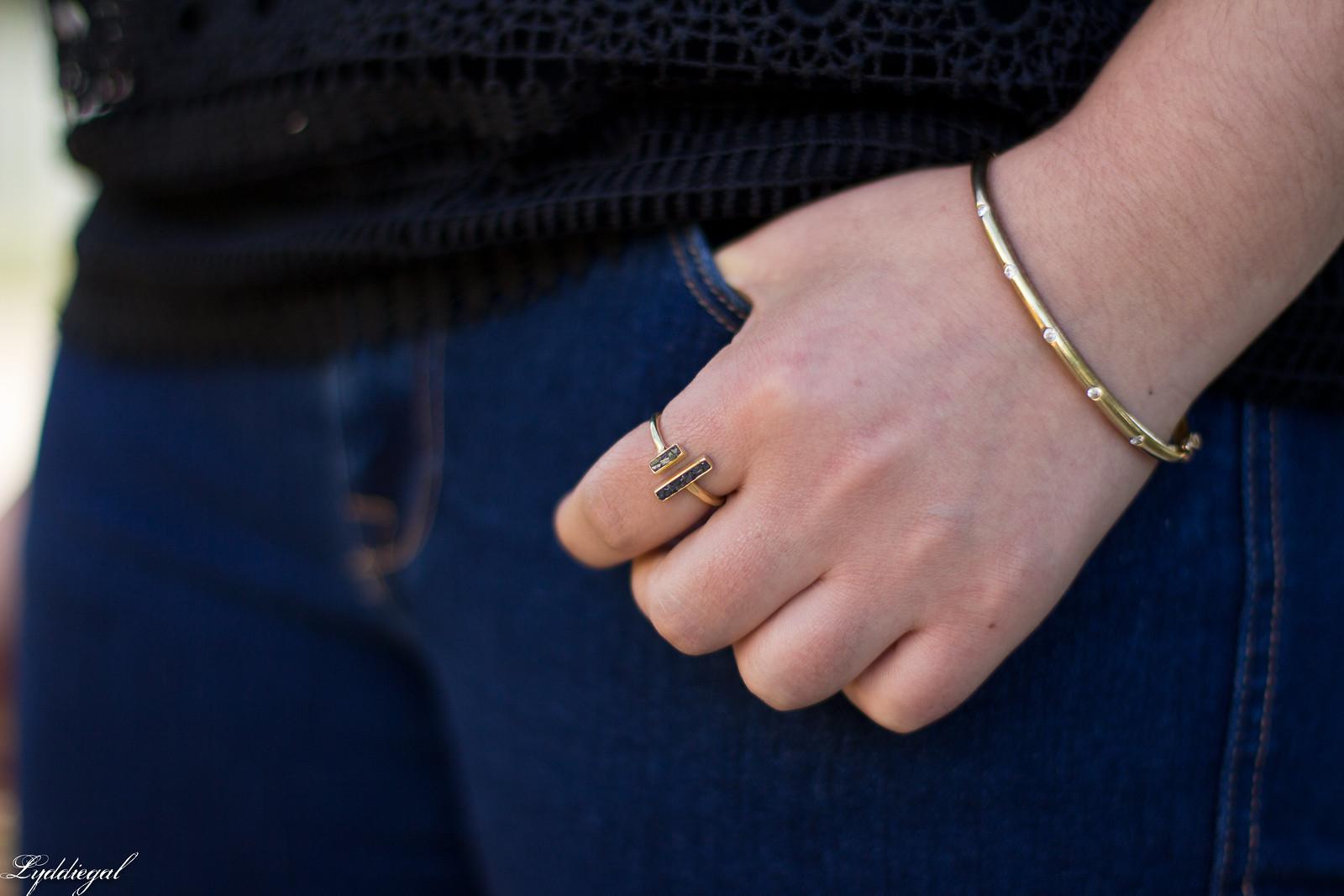 lace bell sleeve blouse, fringe hem jeans, bamboo bag-4.jpg