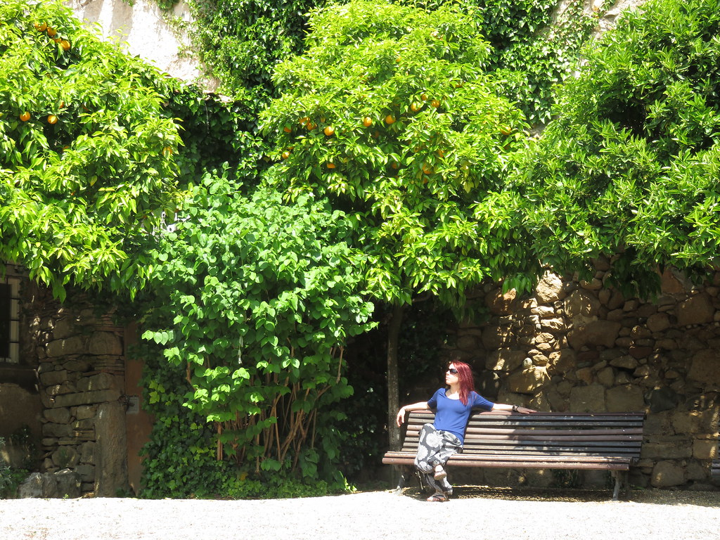 Relaxing in the Garden of Angels, Girona