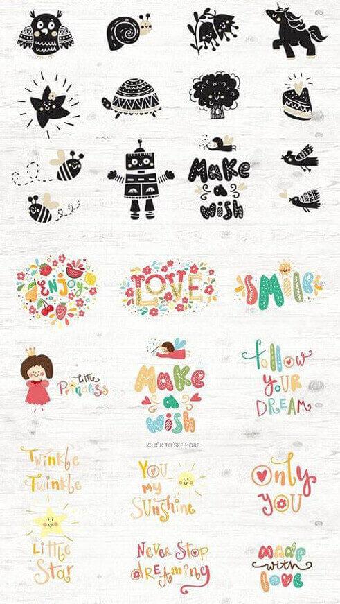 креативные идеи для маленьких детей