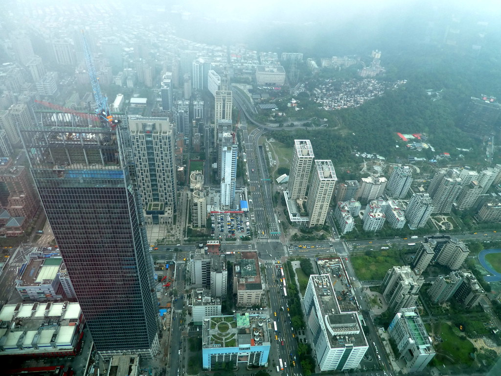 View from the top of Taipei 101