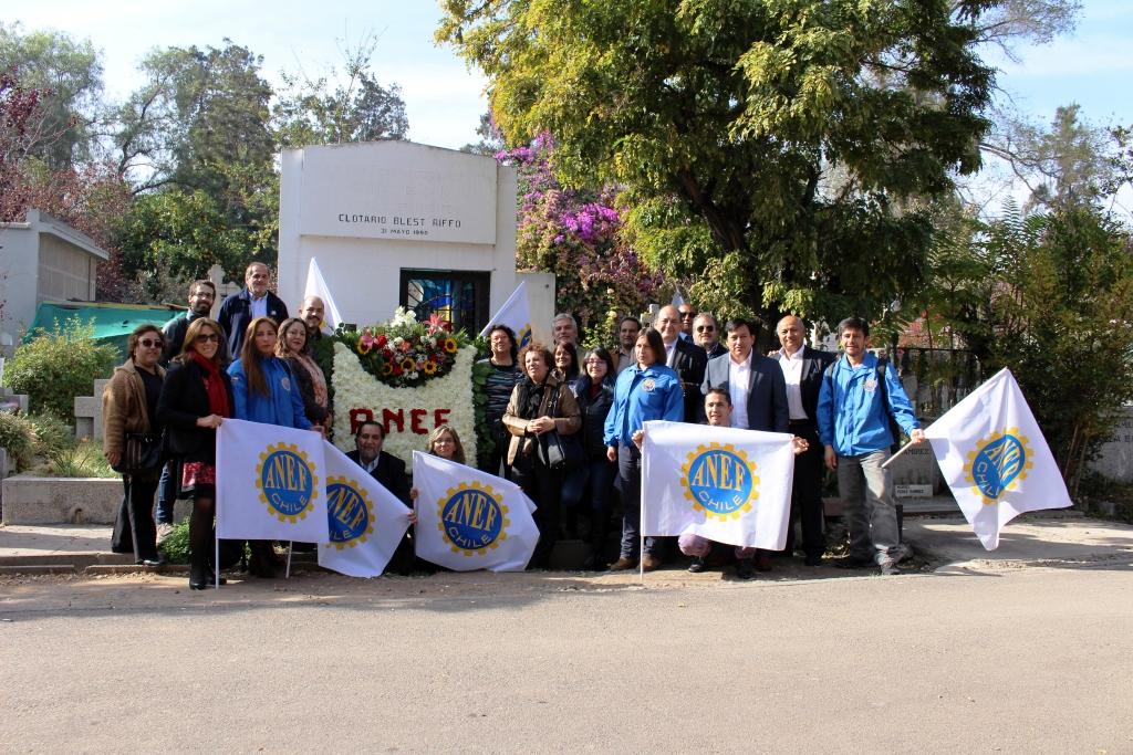 AFUDEP participó en romería en homenaje a Clotario Blest - 05 Mayo 2017