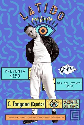 C. Tangana en Querétaro