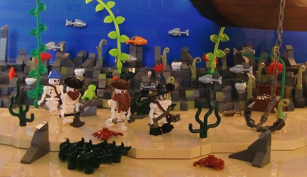 Fluch Der Karibik Unterwasser Attacke Lego Bei 1000steinede