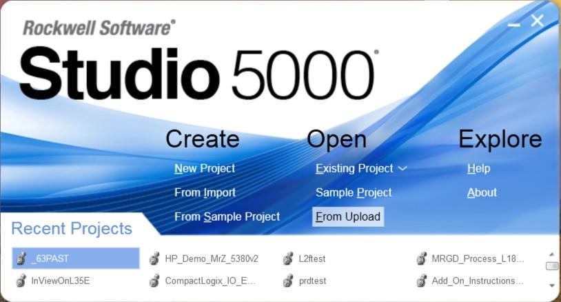 Studio 5000 Launcher