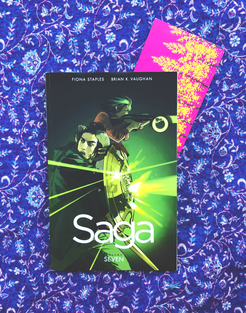 saga volume 7 brian k vaughan book blog