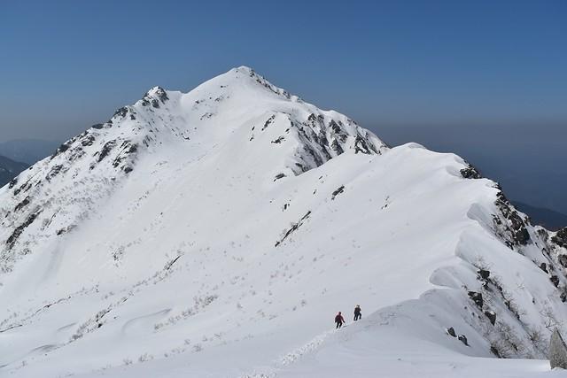 雪の中央アルプス・三ノ沢岳 日帰り登山