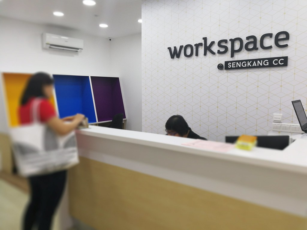 here's what you get at the free workspace at sengkang cc - the