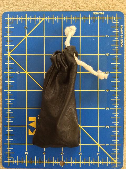 Bag cinched
