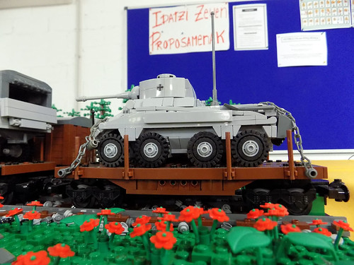 Diorama de Panzerbricks en la feria de Coleccionismo Mungia 2017