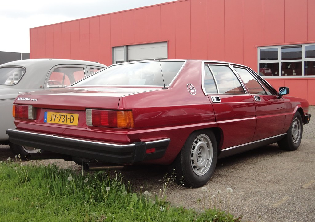 Maserati Quattroporte III 4.9 V8 29-4-1982 JV-731-D   Flickr