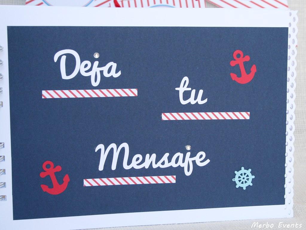 libro firmas comunion marinera Merbo Events