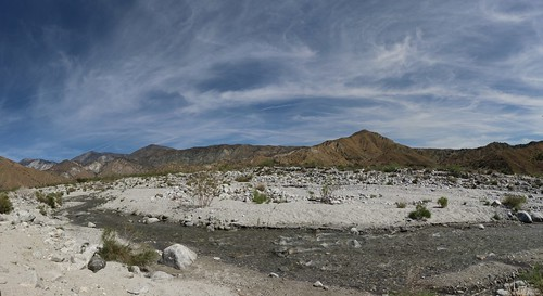 1328 Panorama shot looking north and east over the Whitewater River from mile 220 on the PCT | by _JFR_