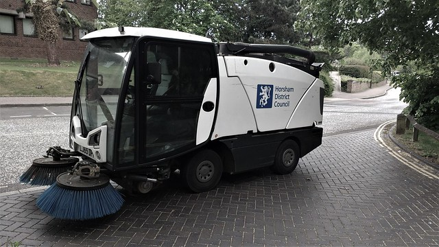 Horsham's road sweeper