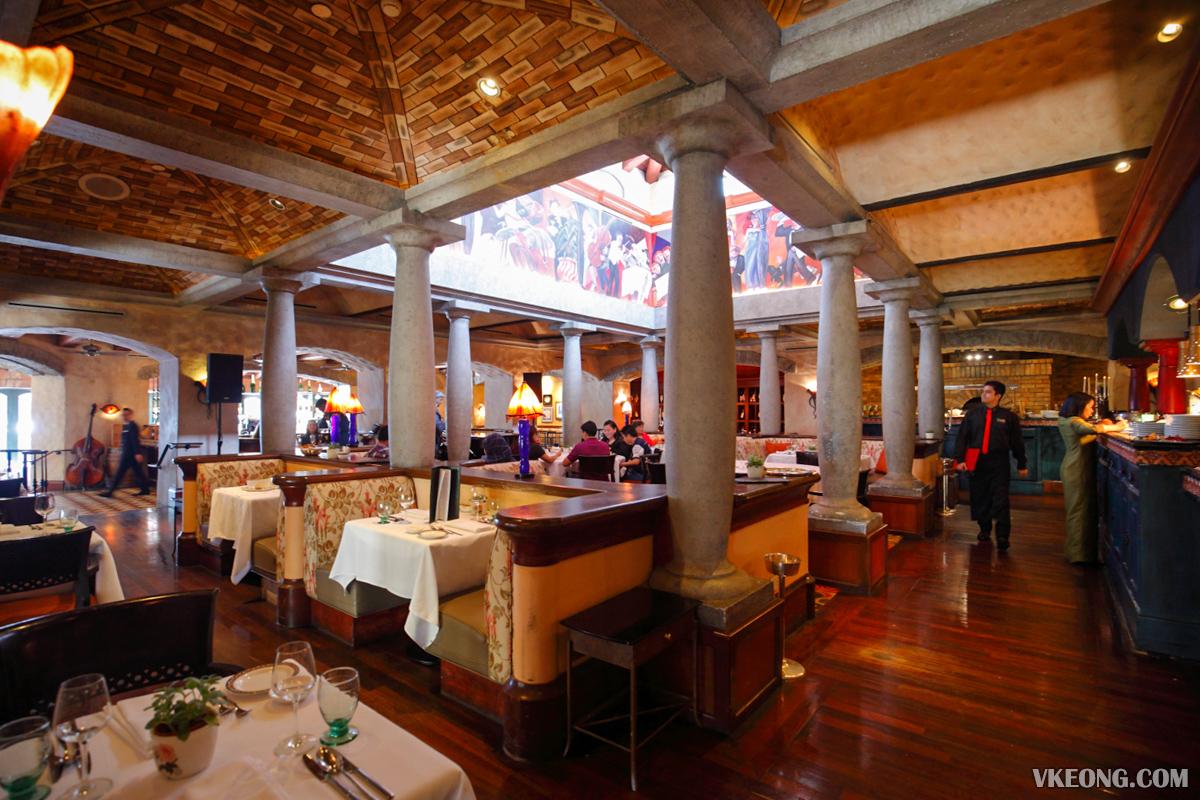Villa Danieli Italian Restaurant Sheraton Imperial