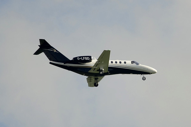 G-LFBD Cessna 525A Citationjet CJ2+