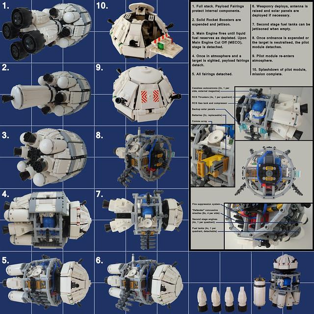 """Local Orbit Defense Starfighter """"Artemis"""""""