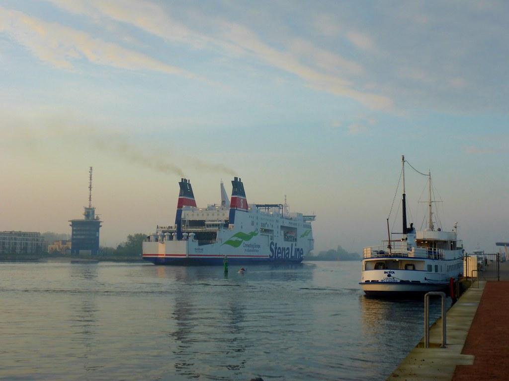 14.5.2017, morgens in Warnemünde
