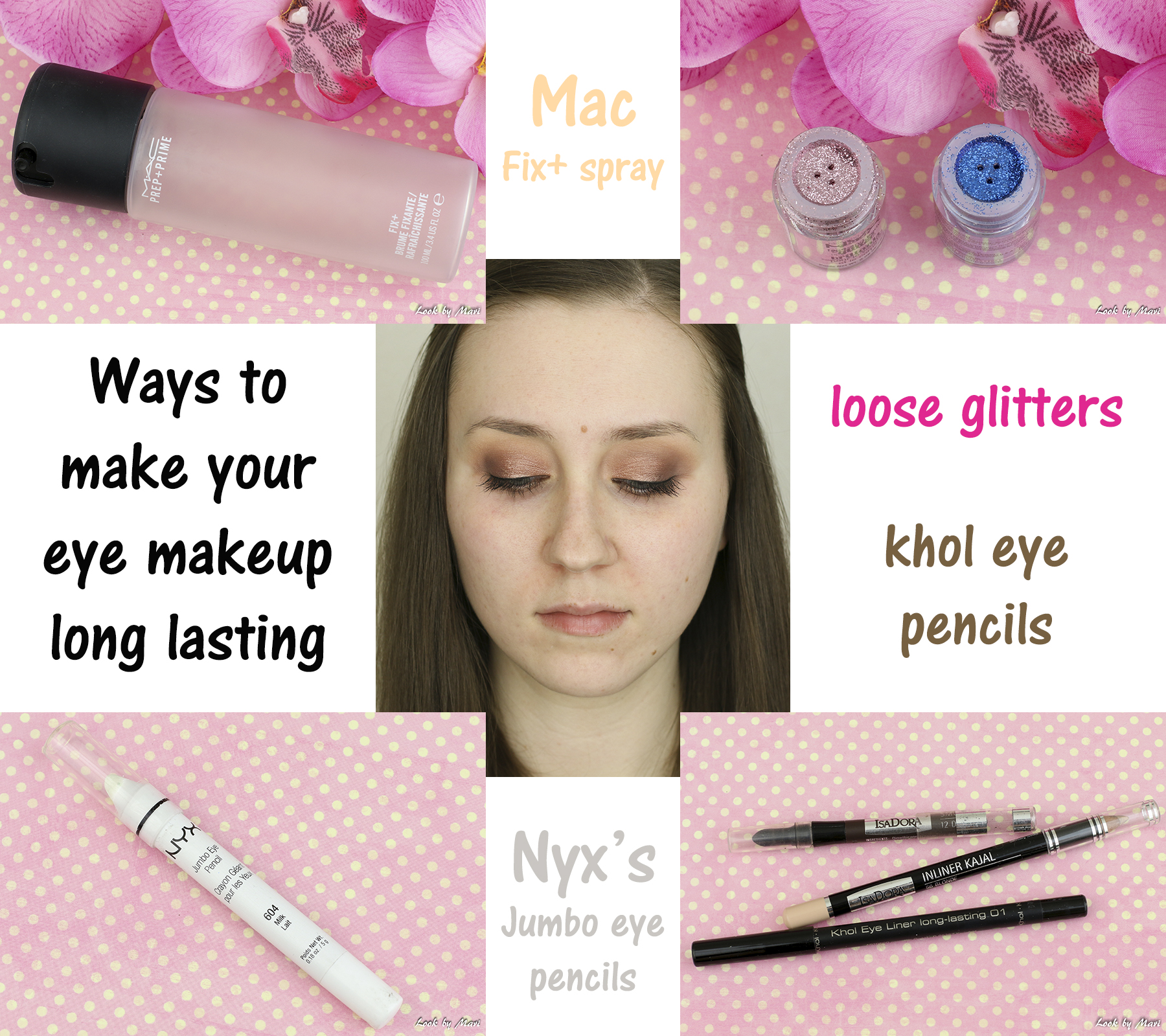 4 long lasting eye makeup tips ideas tutorial mac fix + spray review