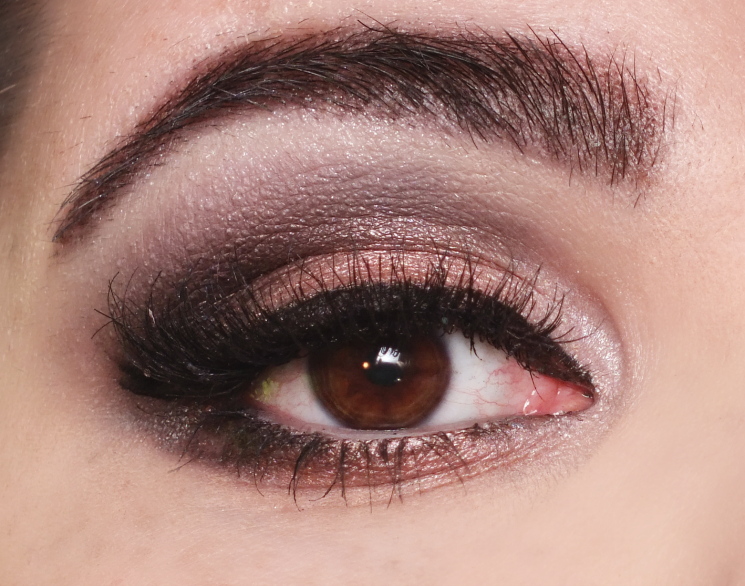 rimmel 002 london nudes eye look