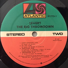 LEVERT:THE BIG THROWDOWN(LABEL SIDE-B)