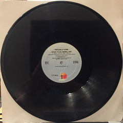 TROUBLE FUNK:GOOD TO GO(REMIX)(RECORD SIDE-A)
