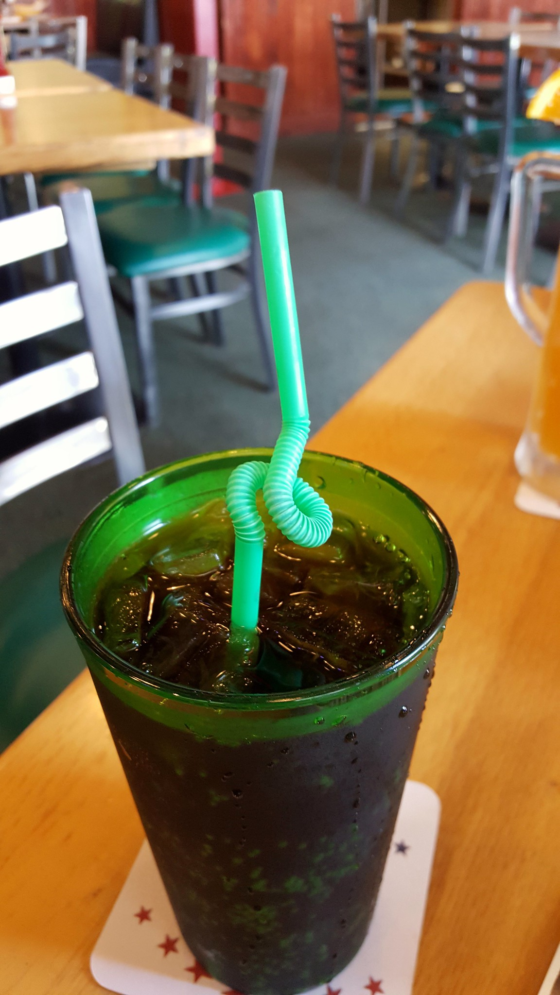 Curly straw