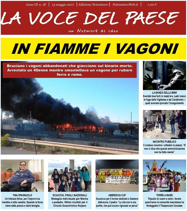 Noicattaro. Prima pagina n.18-2017 intero