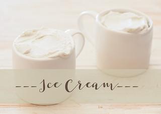 1. ice cream